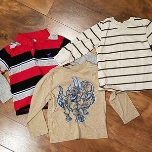 Toddler boy long sleeve shirt bundle 2T t-shirt
